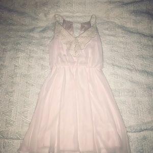 Pink Nordstrom Babydoll Dress